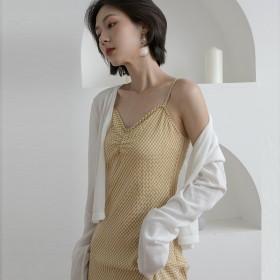 2021年夏季薄款冰丝针织防晒衣女空调衫短款披肩开