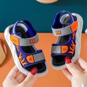 男童凉鞋中大童软底防滑小男孩沙滩鞋儿童潮男童鞋子
