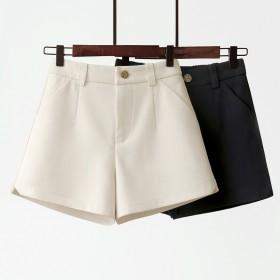 夏季新款高腰显瘦阔腿西装薄款休闲裤子