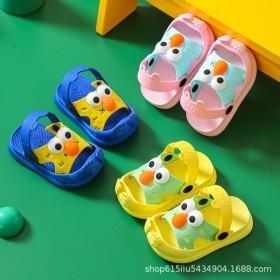小童拖鞋包头男童女童婴幼儿1-3岁防滑室内防撞儿童
