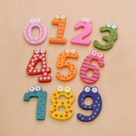 磁性数字贴磁力数字冰箱贴幼儿园益智算数早教具儿童认