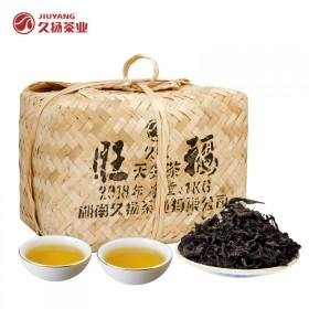 黑茶湖南安化黑茶旺福天尖散茶