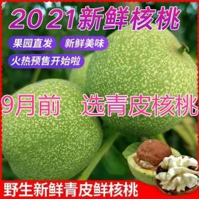 新鲜核桃幼果去皮青皮泡酒药用小孩孕妇老人优质营养食
