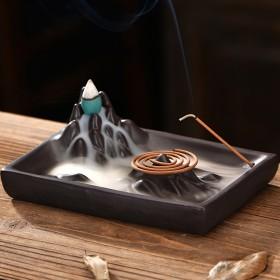 线香插 倒流香炉 盘香炉