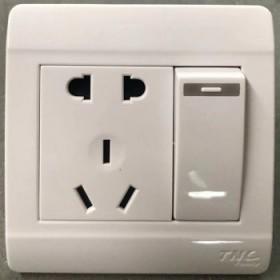TNC开关插座七孔空调五孔