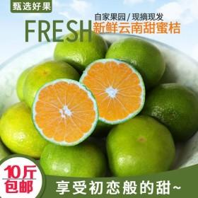 蜜桔无籽新鲜现摘当季橘子整箱10斤