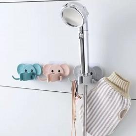 免打孔花洒支架大象花洒架强力无痕浴室花洒底座:淋浴