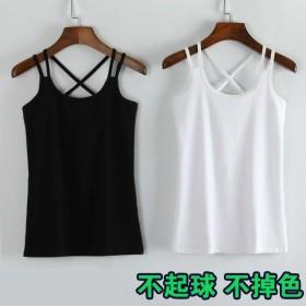 夏季2021新款韩版背心女百搭美背修身性感吊带外穿