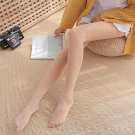 丝袜女春秋薄款防勾丝连裤袜光腿黑肉色打底裤xyl