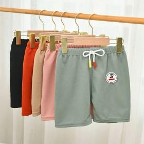 2条薄款男童短裤休闲运动五分裤宝宝潮外穿裤子