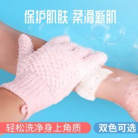 搓澡巾五指沐浴手套家用去污搓泥搓灰搓背双面无痛神器
