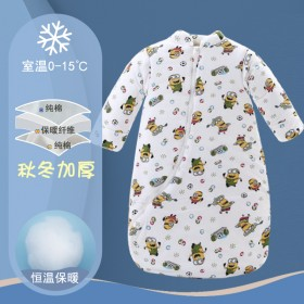 睡眠神器!婴儿睡袋宝宝睡袋秋冬加厚防踢被纯棉