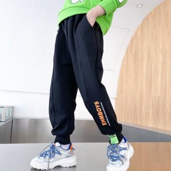 男童运动裤洋气儿童春秋长裤子2021秋装新款男孩