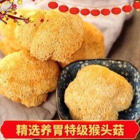 1斤古田猴头菇养胃农家特产食用菌干货猴菇新鲜野生无