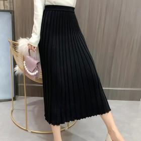半身裙褶皱伞裙xtt