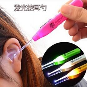 2个装】发光耳勺儿童掏耳神器掏耳屎带灯耳朵勺挖耳朵