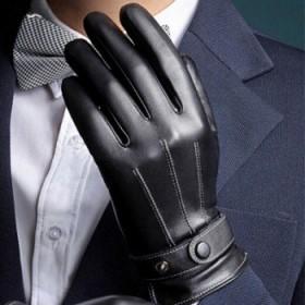 男女通用保暖皮手套