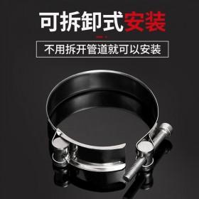304不锈钢欧式强力喉箍卡箍管夹水管管卡抱箍