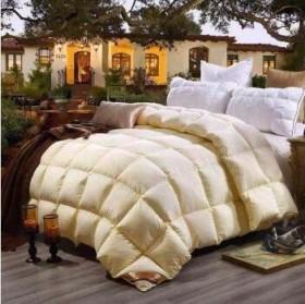 8斤白鹅绒加厚保暖羽绒被白鸭绒被子被芯冬被
