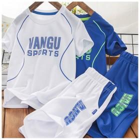 篮球服宽松舒适透气男儿童装衣服夏季两件套篮球衣
