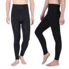 420g男士修身一体紧身保暖裤
