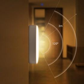 智能人体感应小夜灯充电灯床头卧室家用起夜灯