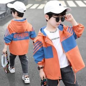 装外套洋气中大童男孩儿童上衣小孩韩版春秋款童装