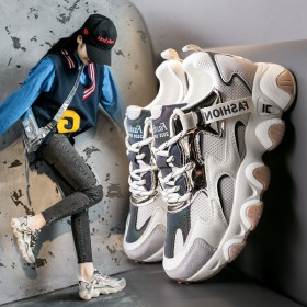 老爹鞋女舒适百搭韩版运动鞋女ins学生跑步鞋