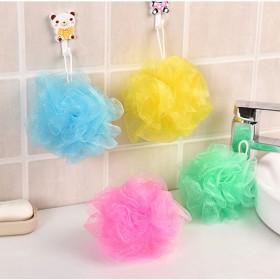 沐浴球 多彩浴擦 洗澡巾搓背浴花