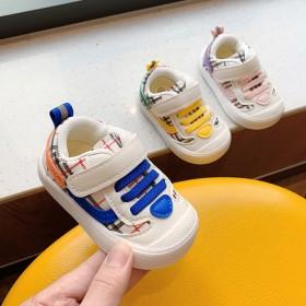 秋季新款男女童学步鞋婴幼儿包头防滑休闲运动鞋女孩小