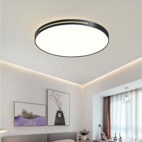 Led客厅灯简约现代超薄卧室吸顶灯三室两厅套装灯具