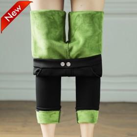 新款牛油果润肤裤秋冬款加绒加厚小猫魔术裤乳木果弹力