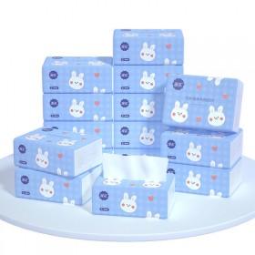 抽纸小包卡通款家用纸巾实惠装压花纸抽原木浆卫生纸