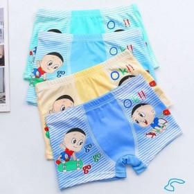 4条装儿童内裤男女童内裤