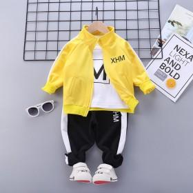 童装韩版儿童外套服装潮流男童运动套装