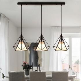 北欧餐厅吊灯三头创意个性现代简约轻奢吧台饭厅餐桌灯