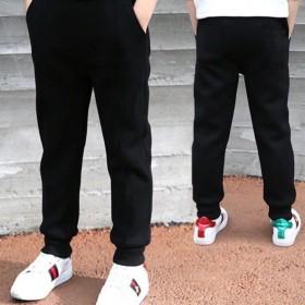 男童春秋款薄中大童儿童秋装洋气长裤运动裤
