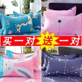 4只枕套多色花型可选四季通用