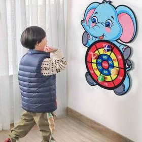 儿童玩具益智飞镖盘粘粘球