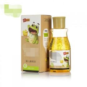 婴儿按摩抚触油肌肤干燥起皮润肤油身体护理油