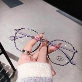 素颜神器网红防蓝光防辐射眼镜