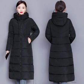 长款棉衣女冬季新款韩版秋冬棉袄女装棉服外套