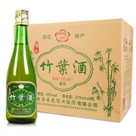 山西汾酒竹叶青产地45度竹叶酒375×6瓶
