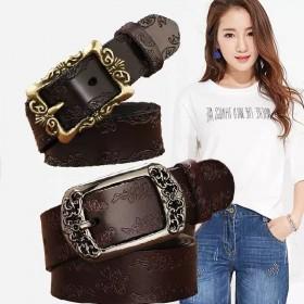 腰带女韩版学生皮带女款