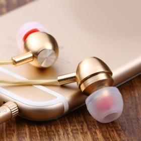 金属线控入耳式耳机 苹果安卓手机平板MP4电脑通用