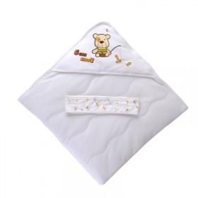 婴儿抱被纯棉新生儿包被春秋婴儿用品秋冬加厚被子包巾