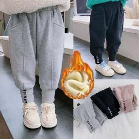 女童秋装运动裤2021春秋韩版束脚裤