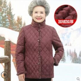 中老年人冬装外套女棉衣