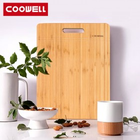 COOWELL楠竹菜板砧板家用防霉案板占板粘板
