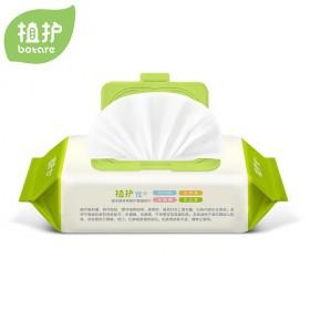 植护婴儿湿巾80抽带盖宝宝手口湿纸巾bb大包湿巾纸